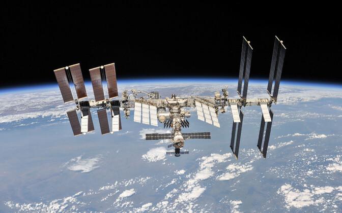 Rahvusvaheline kosmosejaam ISS.