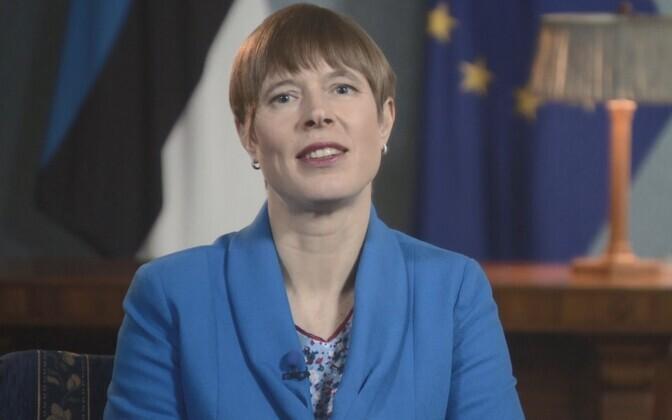President Kersti Kaljulaid..