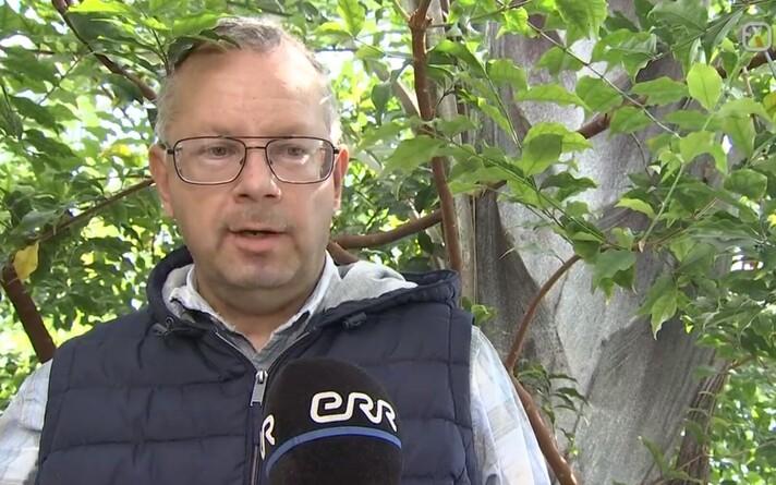 Tallinna botaanikaaia  teadus- ja haridusosakonna metoodik Urmas Laansoo.