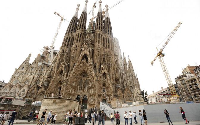 Sagrada Familia Barcelonas.