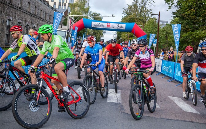 Jalgratturid Ülemiste Citys
