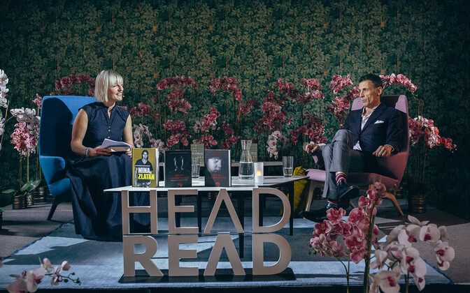 Last year's HeadRead event, here featuring a conversation with Swedish journalist and author David Lagercrantz.