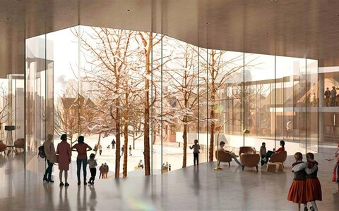 Uues eesti keskuses tegutsevad eesti kool, lasteaed, rahvatantsurühmad, koorid, kunsti- ja kultuuriringid, aga paindlik kujundus võimaldab ruume ka välja rentida ja nii keskusele tulu toota.