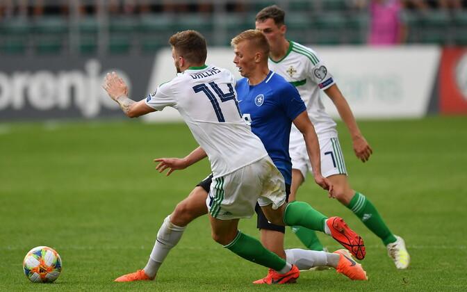 923c6230330 Mõne minutiga edu maha mänginud Eesti kaotas Põhja-Iirimaale ...