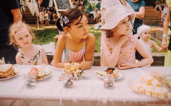 Таллиннский фестиваль уличной еды.