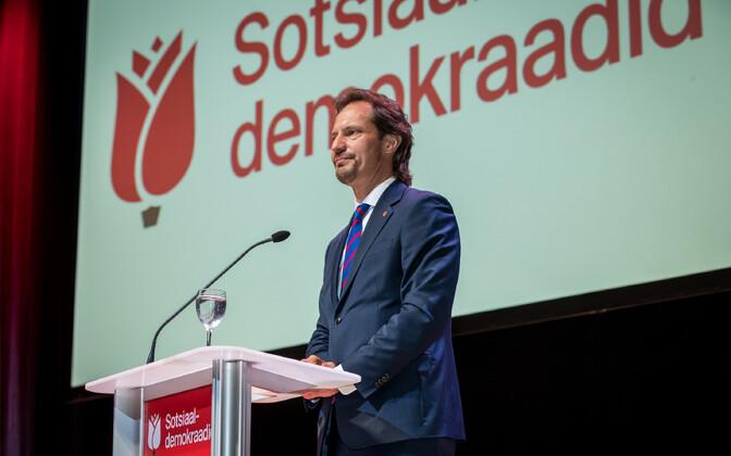 Sotsiaaldemokraatliku Erakonna üldkogu.
