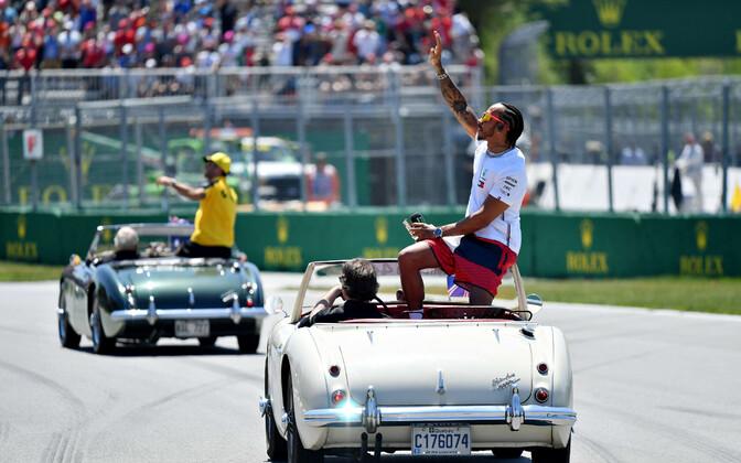 Lewis Hamilton jääb ise Kanada GP eel rahulikuks