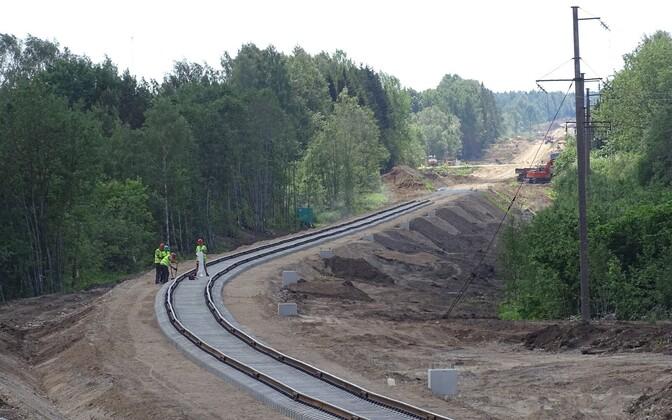 Esimene etapp Haapsalu raudtee taastamisest on Riisipere-Turba lõigu ehitus.