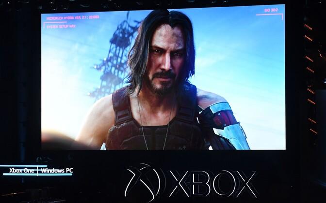 Keanu Reeves videomängukonverentsil E3