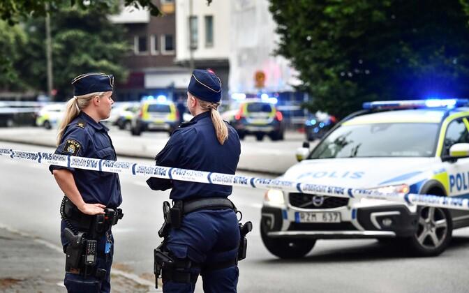 Полицейские Мальмё ранили мужчину. Иллюстративная фотография.