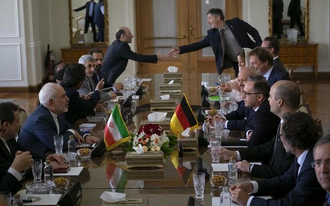 Iraani ja Saksa välisministri kohtumine Teheranis.