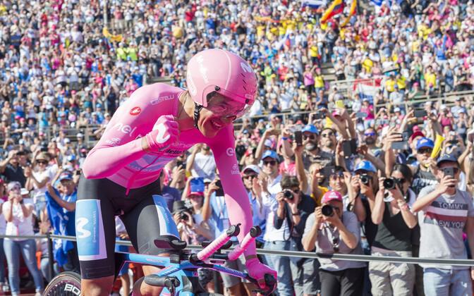 Richard Carapaz võidutses Itaalia velotuuril 2019. aastal