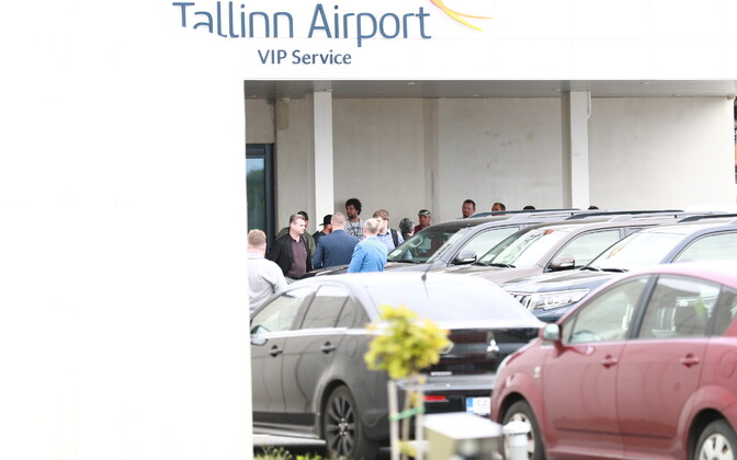 Christopher Nolani saabumine Tallinna