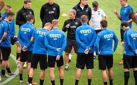 Eesti jalgpallikoondis Mainzis