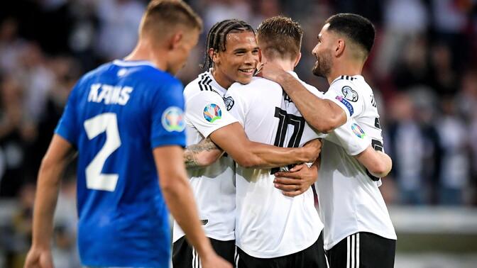 d9af5cf24a2 Halastamatu Saksamaa lõi EM-valikmängus Eestile kaheksa väravat