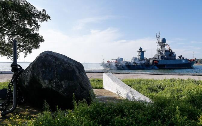 Balti laevastiku allveelaevatõrjuja Aleksin.