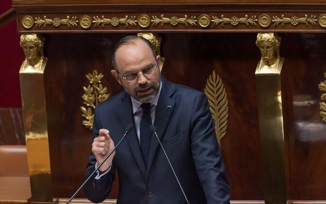 Prantsuse peaminister Edouard Philippe.