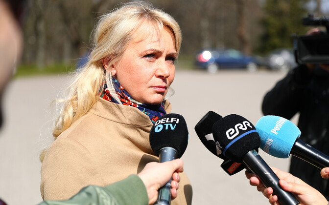Minister for Population Affairs Riina Solman (Isamaa).