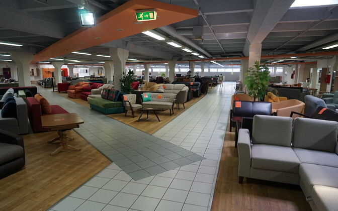 Торговый зал Дома мебели