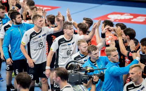 Käsipalli EM-valikmäng: Eesti - Holland