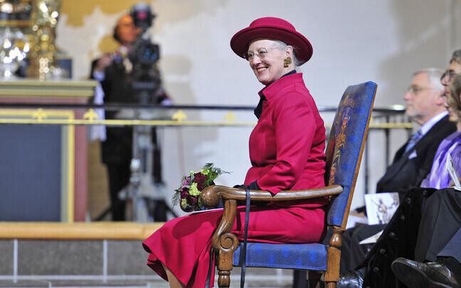Ее Величество Королева Дании Маргрете II откроет в Таллинне выставку, посвященную датскому флагу.