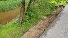 Jõkke vajunud kaldakindlustus Audrus