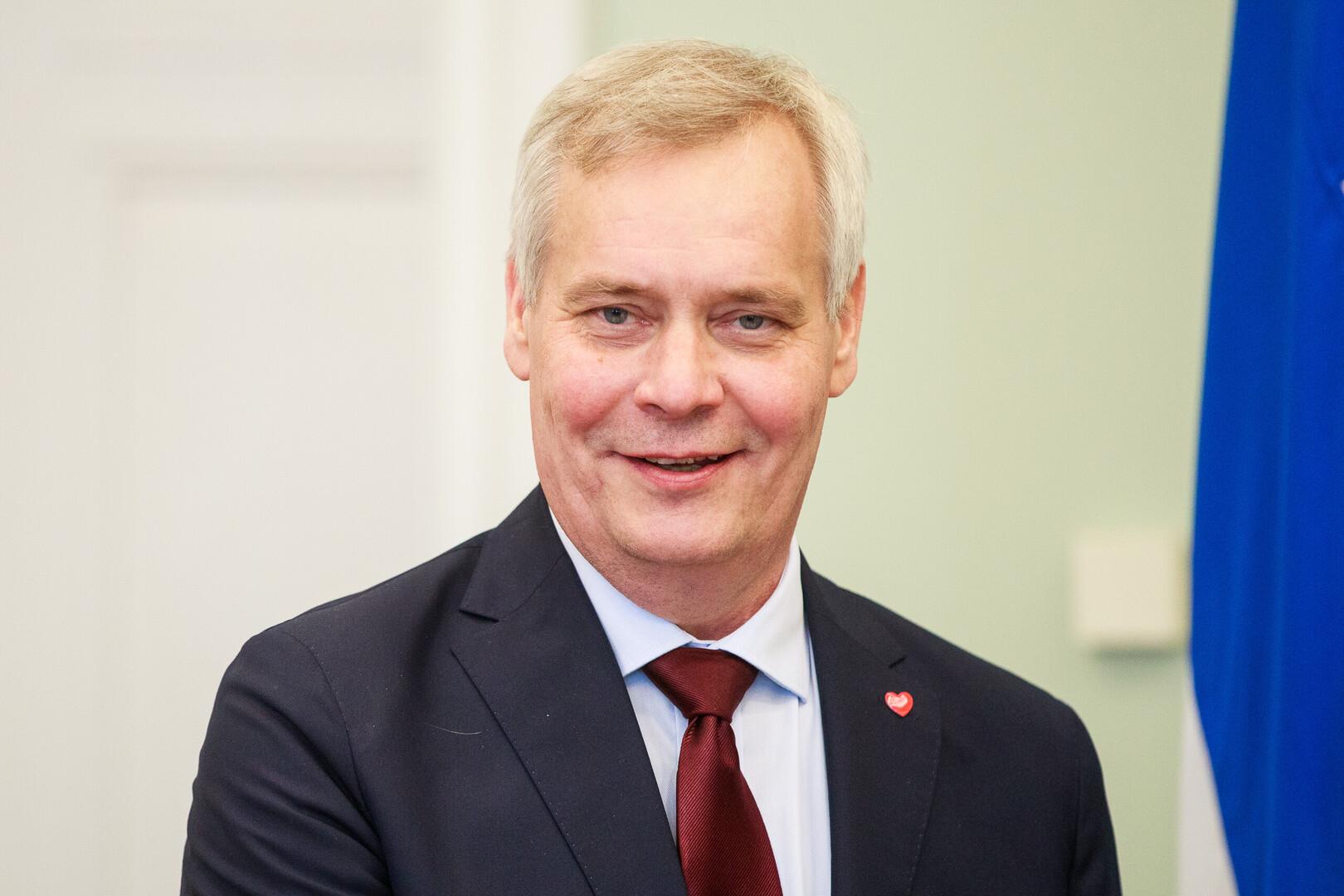 Image result for Finnish Prime Minister Antti Rinne