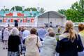 President Kersti Kaljulaidi ja memento liidu vastuvõtt juuniküüditamise aastapäeval.