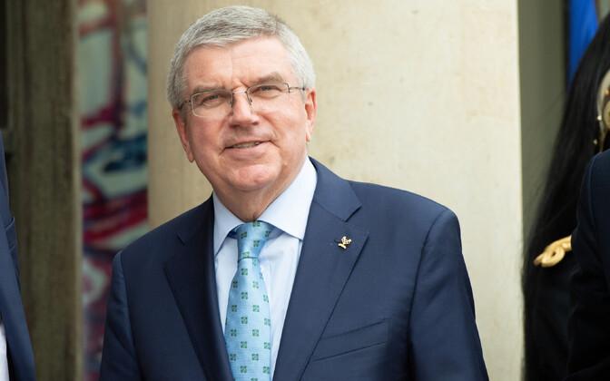 Rahvusvahelise olümpiakomitee (ROK) president Thomas Bach