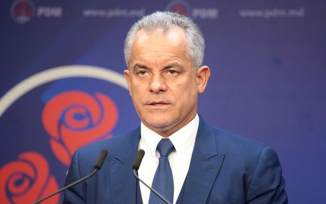 Лидер Демократической партии олигарх Влад Плахотнюк.