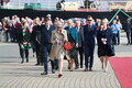 Queen Margrethe II of Denmark was received by President Kersti Kaljulaid at Tallinn's Seaplane Harbour on Saturday. June 15, 2019.