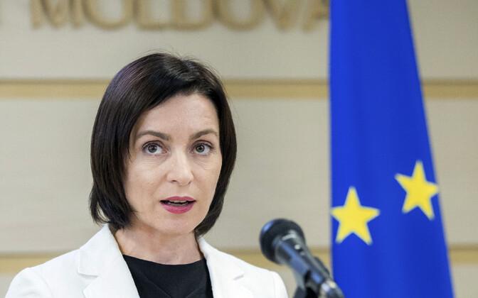 Moldovan Prime Minister Maia Sandu.