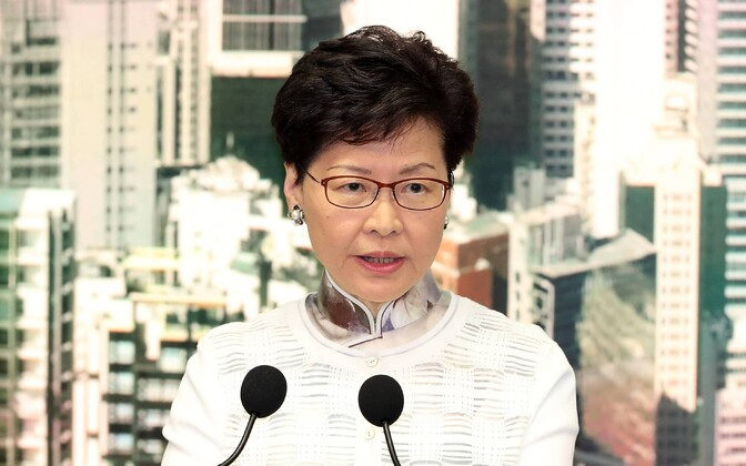 Глава Гонконга  Кэрри Лам.