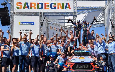 Dani Sordo - Carlos del Barrio ja Hyundai meeskond