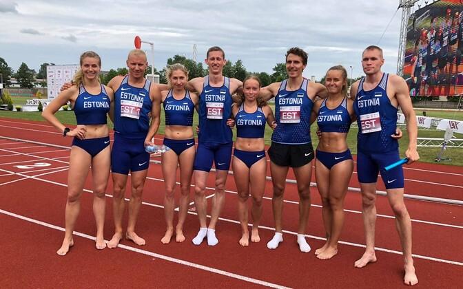 Eesti 4x400 m teatenelikud