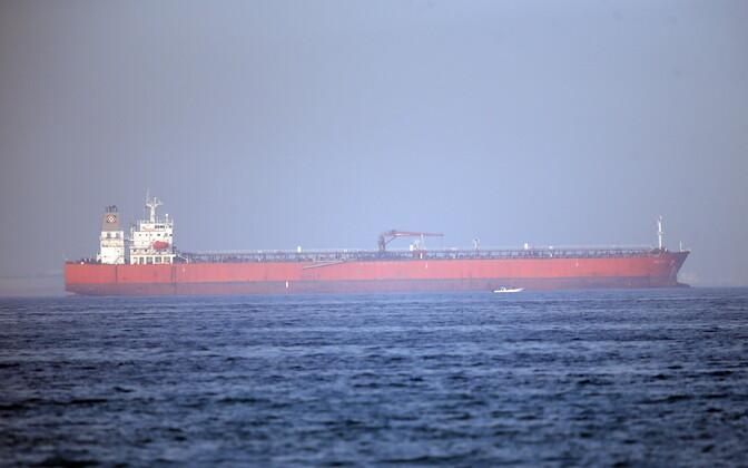 Omaani lahes kannatada saanud tanker.