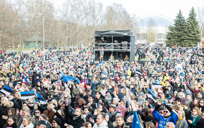 Доля эстонцев составляет 68,5% от общего числа жителей Эстонии.