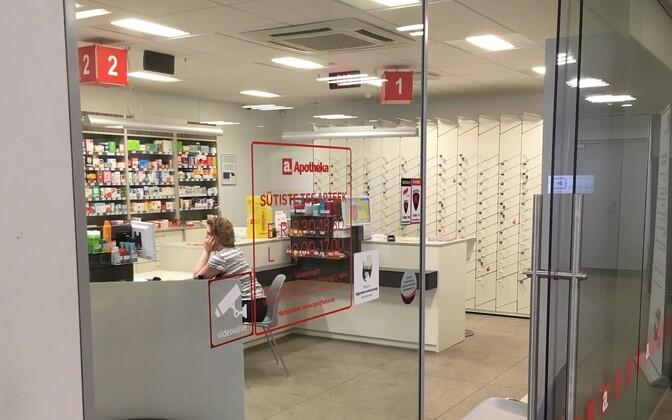The Apotheka pharmacy at PERH.