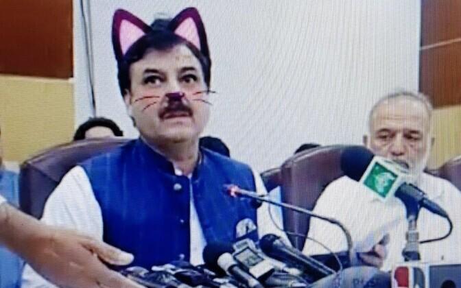 Pakistani provintsiminister Shaukat Yousafzai