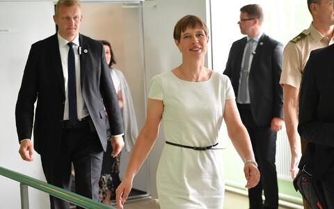 Президент Керсти Кальюлайд посетила Ида-Вирумаа.