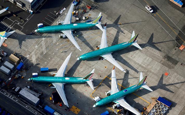Самолеты Boeing 737 MAX.