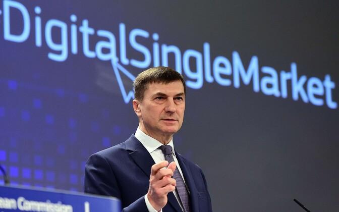 Андрус Ансип с июля станет депутатом Европарламента.