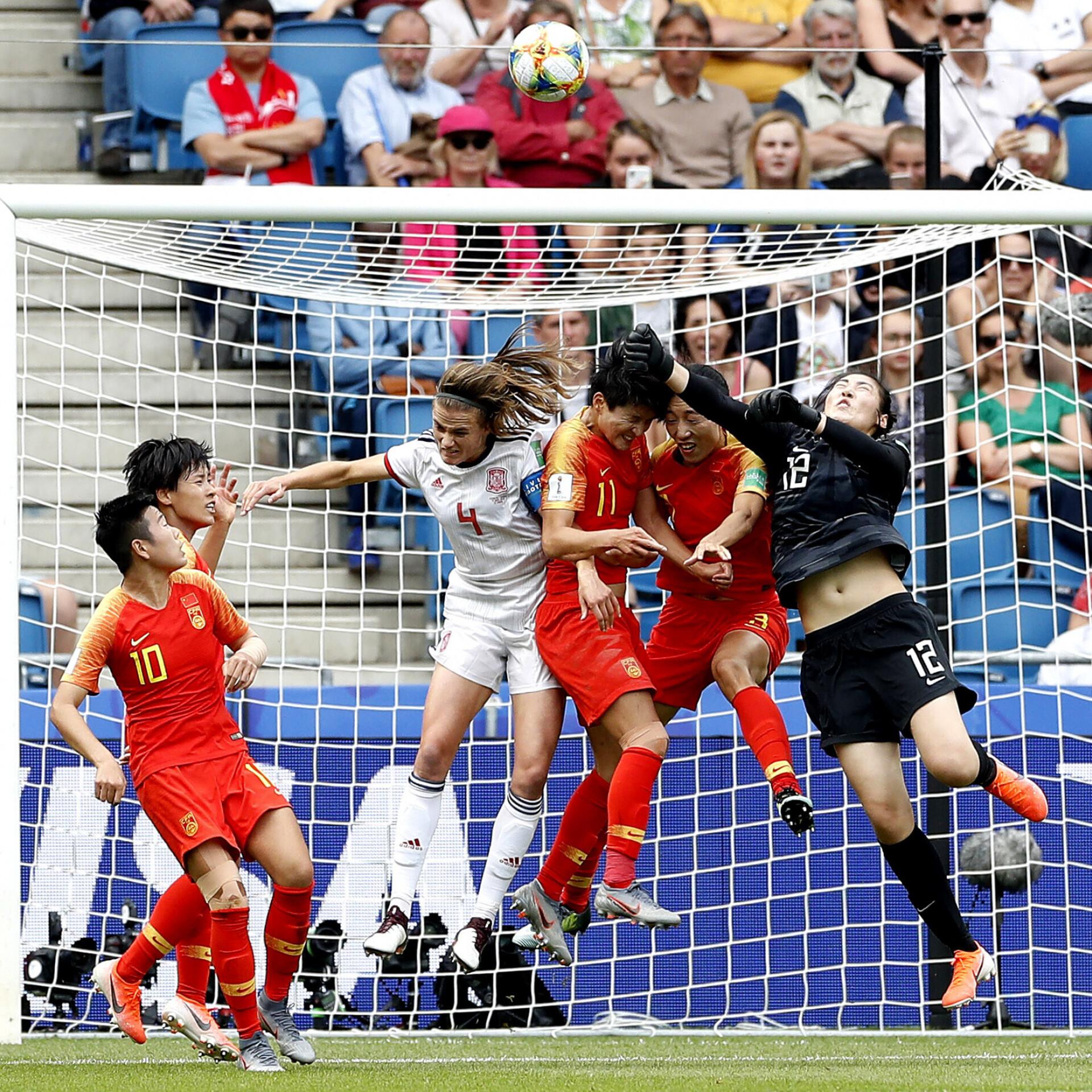 a0c9e29e620 Naiste MM: Hispaania ja Hiina mängisid viiki, kuid mõlemad pääsesid edasi |  Jalgpall | ERR