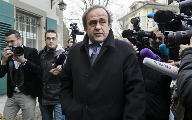 Мишеля Платини подозревают в коррупции.