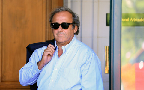Endine UEFA president Michel Platini