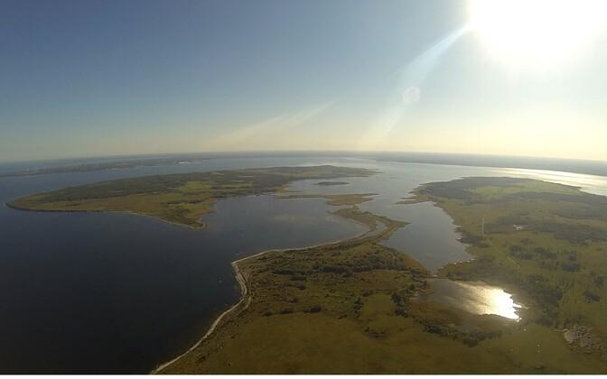 Остров Вяйке-Пакри.