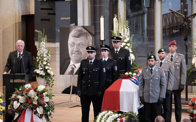 Hesseni poliitiku Walter Lübcke matused 13. juunil Kasselis.
