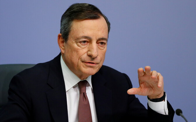 Euroopa Keskpanga (ECB) president Mario Draghi.