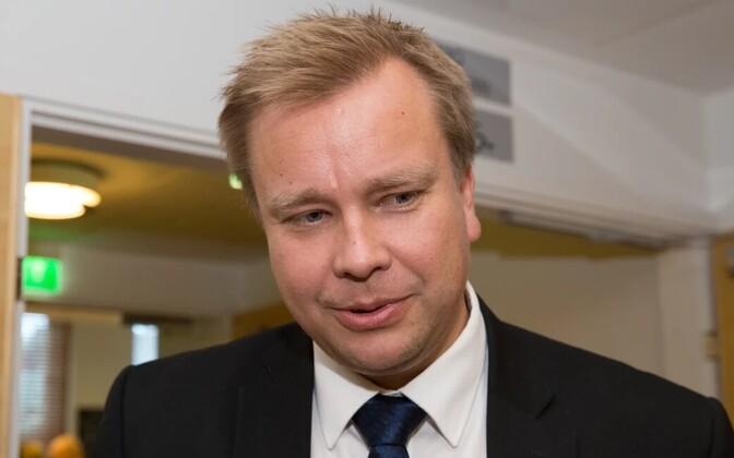 Soome kaitseminister Antti Kaikkonen (Keskerakond).