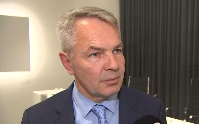Министр иностранных дел Финляндии Пекка Хаависто.